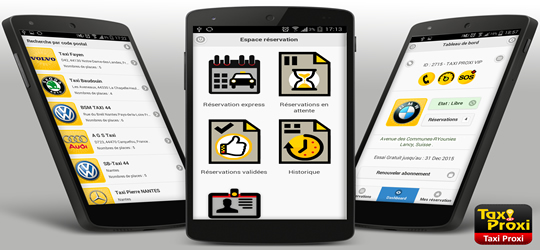 Votre application mobile taxi